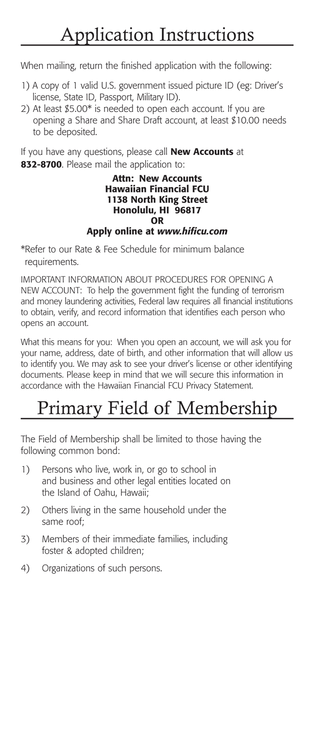 Membership Benefits Brochure Page 8